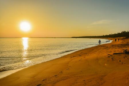 Sunrise sea background 免版税图像