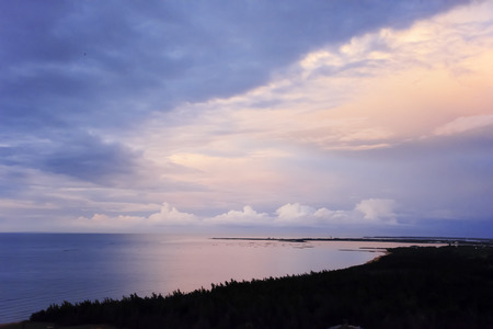 Sunrise sea background image