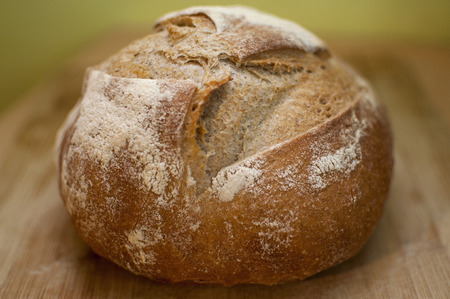 crusty: Homemade crusty bread