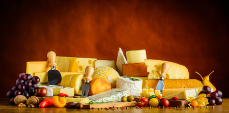 Cheese, Fruits and Vegetables Food in stil llife, hard-cheese, soft-cheese