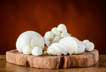 dairy product: Mozzarella Cheese Balls. Italian Dairy product