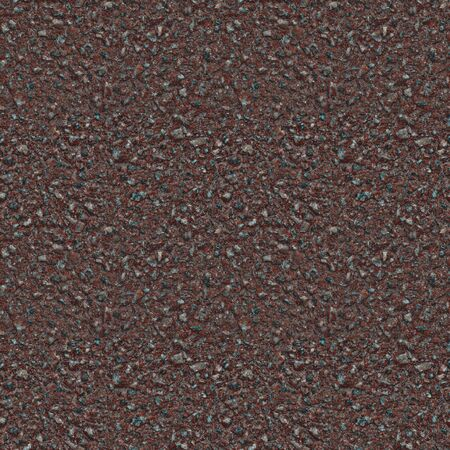 Seamless pattern of red asphalt pavement. Layer moisture protective surface treatment of the roadway. Covering a bike path. Seamless asphalt texture. Road surface. Monotonous wallpapers.