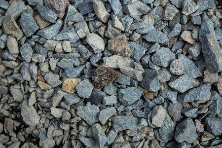Gravel texture. Background image. Photo close up.