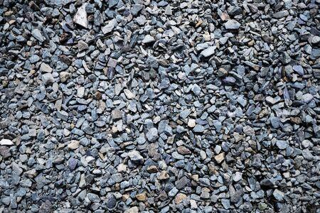 Gravel texture. Background image. Photo close up.