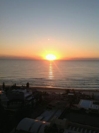 Sunrise or sunset at seaside Archivio Fotografico