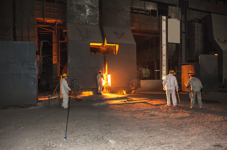 Steelmaking plant and steelmaking workshop 新聞圖片