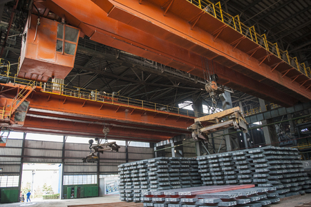 Interior environment of steel works