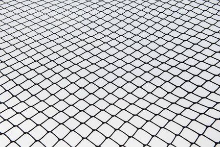 Chain wall background around the playground Stockfoto - 133459233