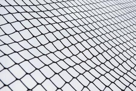 Chain wall background around the playground Stockfoto - 133459248