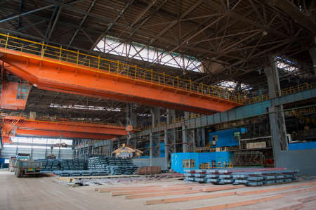 Tangshan, Hebei, China: June 14, 2014 - A steelmaking plant that produces steel