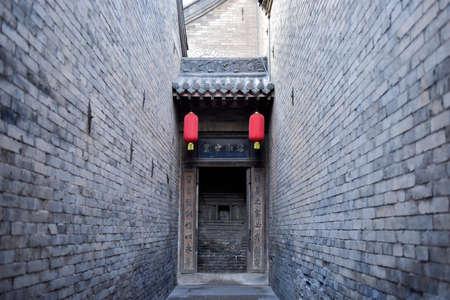 Lingshi County, Shanxi Province, China: May 27, 2018 - Ancient Chinese manors