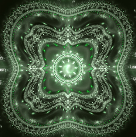 divergence: Emerald Green continental pattern background