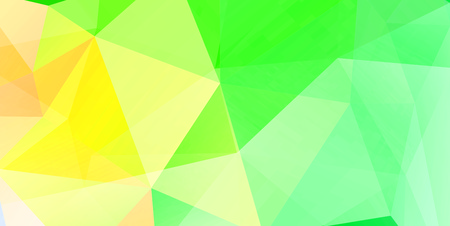 solid figure: Yellow-green solid crystalline geometric patterns, backgrounds, art, canvas, colorful figures