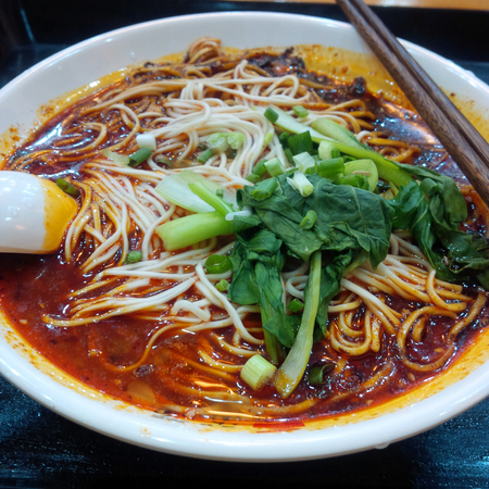 faceting: Chongqing faceting boiled noodles