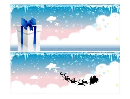 Dream, gift, Christmas Reindeer Santa Claus Christmas New Year