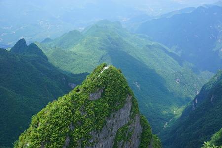 Daba Mountain National Geopark Banco de Imagens