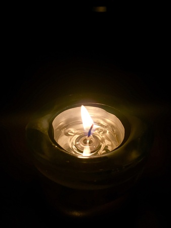 hope: Candle light in the darkness