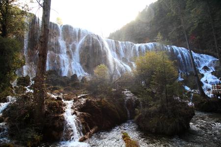 Pearl Shoal Waterfall Stock Photo