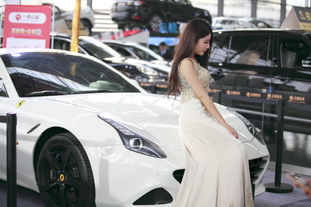 Auto show model