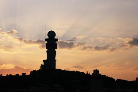 Bailong Park Morning sunlight 版權商用圖片