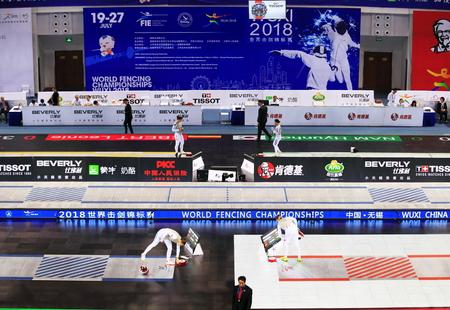 Wuxi Fencing World Championships Editöryel
