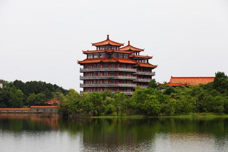 Mulan Lake scenery