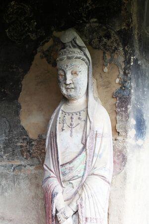 Grotto statue