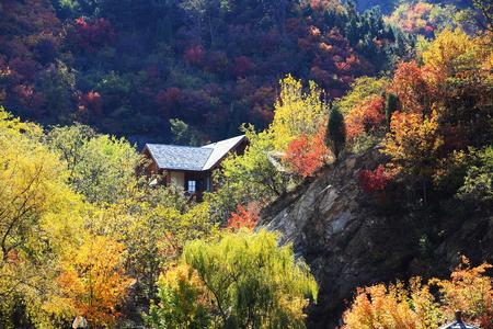 chalet at jiu Rushan scenic area