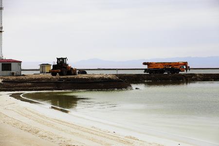 Qarhan Playa Salt Lake