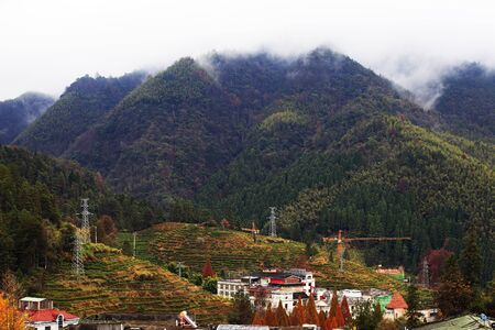Jinggangshan scenery