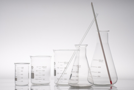 hypothesis: the triangular flask and beaker