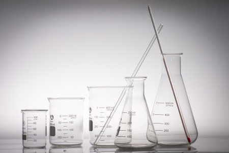 forensics: the triangular flask and beaker