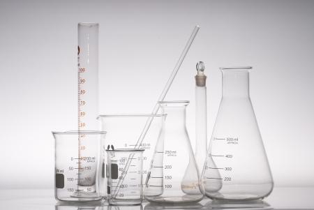 some glass laboratory apparatus photo
