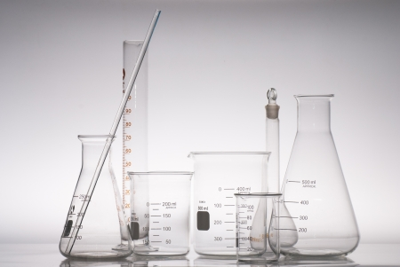 hypothesis: some glass laboratory apparatus