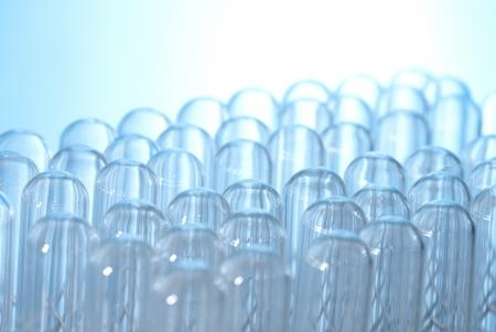 inverted: many inverted Test tubes