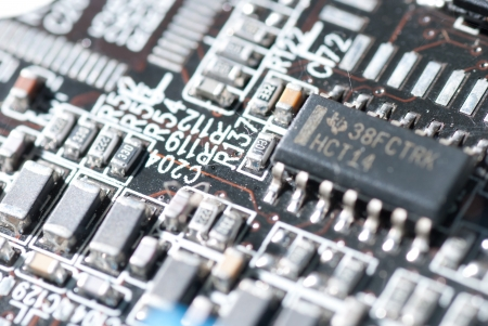 Electronic circuit board Stock Photo - 17833473
