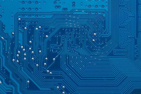 silicio: Electr�nica placa de circuito