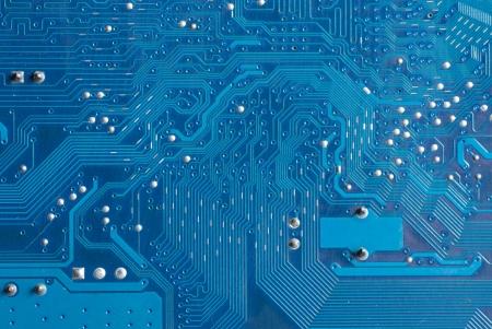 Electronic circuit board Stock Photo