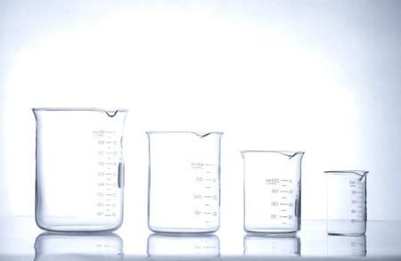 medical testing: glass laboratory apparatus Stock Photo