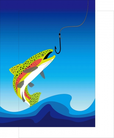 a trout Stock Vector - 20489478