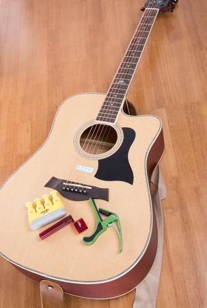 guitar and repair tool