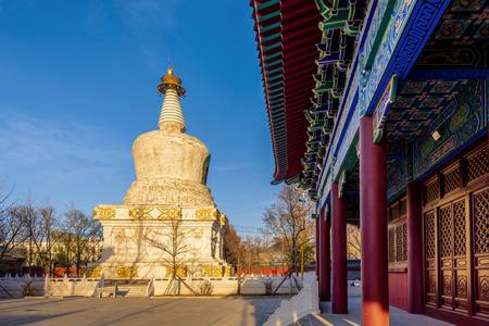 Liaoning Dongta Huguo Yongguang Temple Stok Fotoğraf