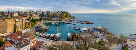 Antalya harbour, Turkey