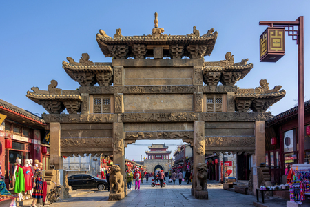 Zuer Stone Square, Xingcheng Ancient City, Huludao, Liaoning