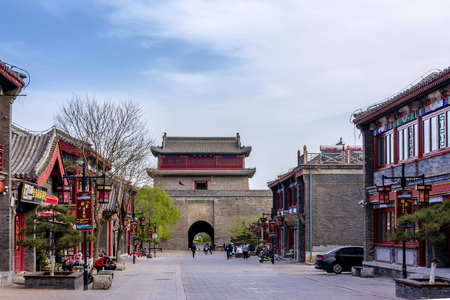 Wangyang Building, Ancient Pass, Shanhaiguan, Qinhuangdao, Hebei Editorial