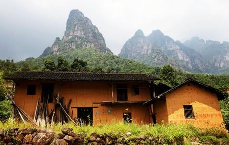 the humanities landscape: Guangxi, Jinxiu Yao, Liu Xiang Township, Yao Houses
