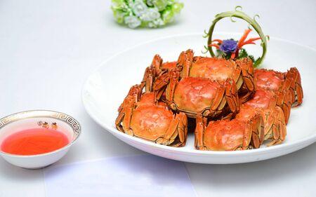Delicious hairy crab