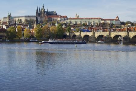 charles bridge: Prague Castle and Charles Bridge