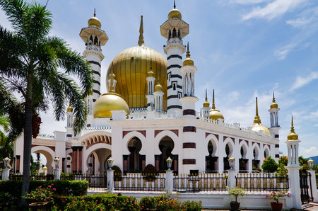 Ubudiah Mosque was designed by Arthur Benison Hubback is Malaysia's most beautiful mosques located in Perak State. Archivio Fotografico