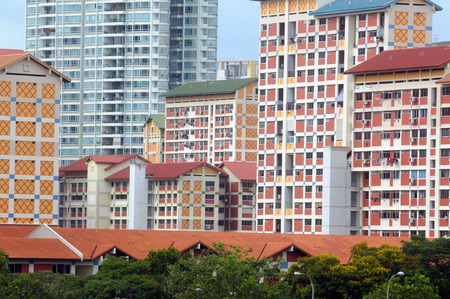 hdb: Residential buildings in Singapore
